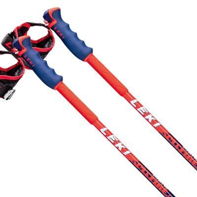 19-20 LEKI〔レキ スキー ポール・ストック〕<2020>SPITFIRE VARIO S 〔ブルーメタリック〕【伸縮式ストック】 新作 最新