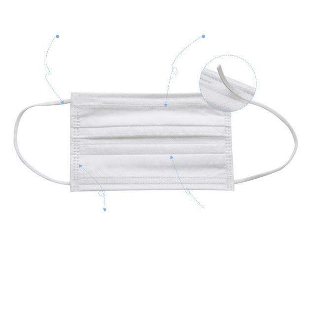 200枚入り 不織布マスク マスク 不織布 在庫あり 使い捨てマスク マスク 三層マスク花粉症 対策 三層構造  ホワイト 男女兼用 大人用 箱なし 高品質 CE認証|tanakast|11