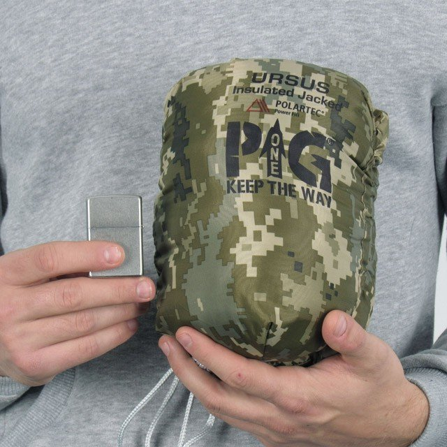 """P1g FIELD INSULATED JACKED """"URSUS """" (POLARTEC POWER-FILL) tands 09"""