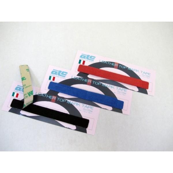 ITALIA SUEDEレザートップマークテープ(ITALIA SUEDEleather top mark tape)|tandtshop-ink