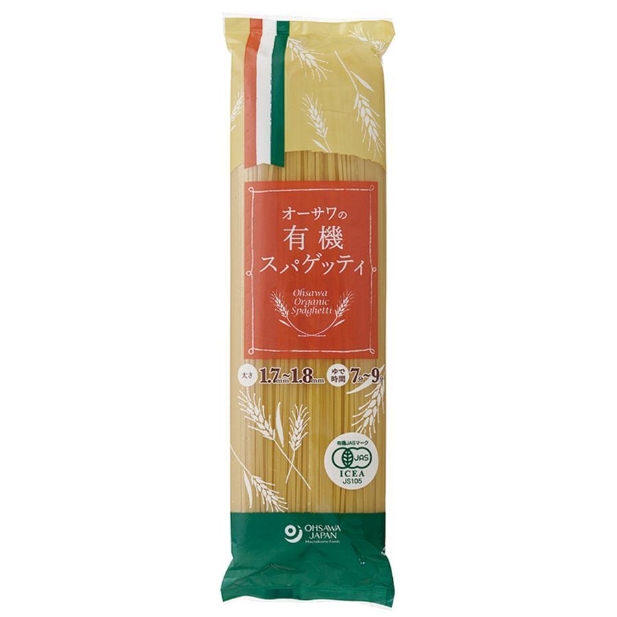 オーサワの有機スパゲッティ (人気激安) 500g 12個セット 春の新作