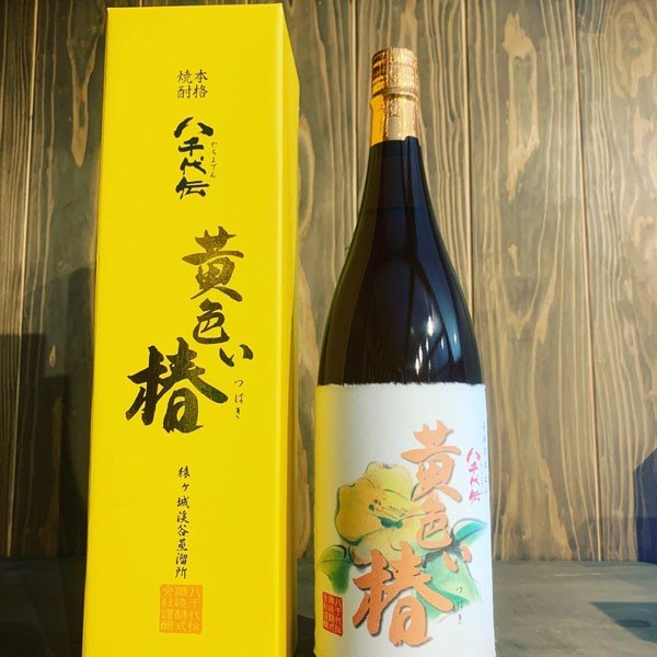黄色い椿 (春限定) 1800ml 1.8L|tanimotoya|05