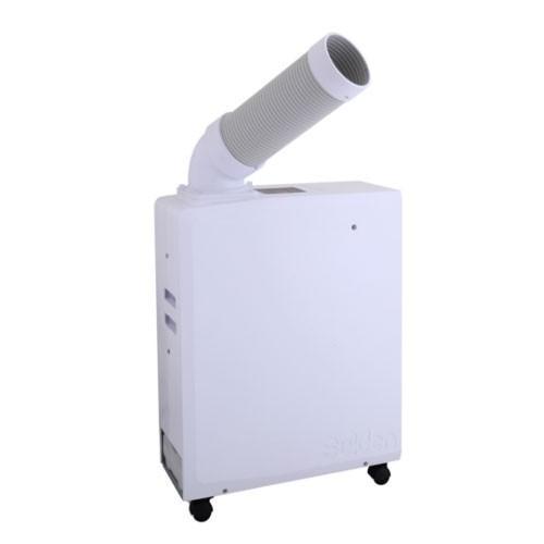 スイデン(suiden) ポータブルスポットエアコン SS-16MXW-1 ホワイト [単相100V・首振り無し]
