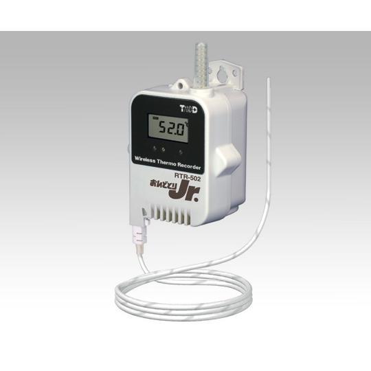 アズワン(AS ONE) おんどとり ワイヤレスデータロガー(子機)温度×1ch(外付)大容量バッテリー(1-3521-02)