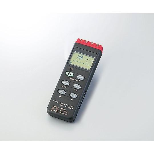 アズワン(AS ONE) デジタル温度計(データロガ内蔵型)MT-309(2-1960-01)