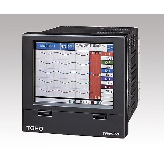 アズワン(AS ONE) ペーパーレスレコーダー(12打点式記録計)TRM2012A000T-Z(1-1456-02)