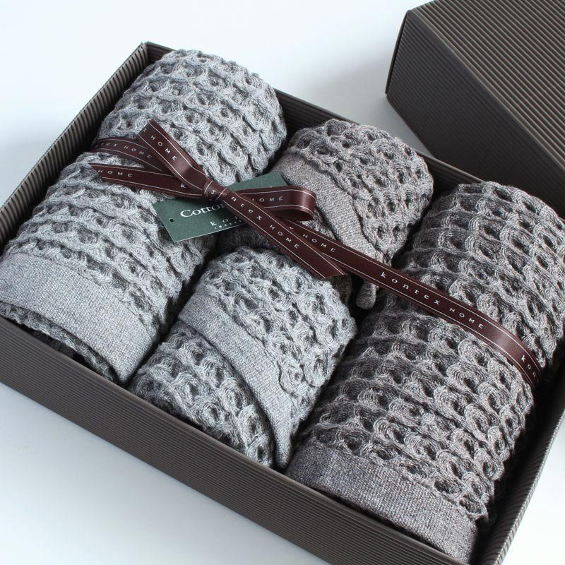 今治タオル コンテックス ブレラ ギフトセット Imabari Towel Kontex Brera GiftSet Size M2枚xSize S2枚|tanokichi