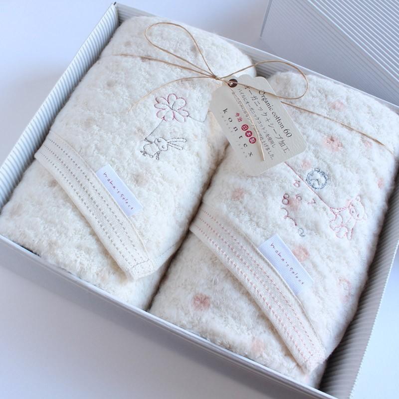 今治タオル コンテックス ミュール ギフトセット Imabari Towel Kontex Mule GiftSet フェイスタオル2枚|tanokichi