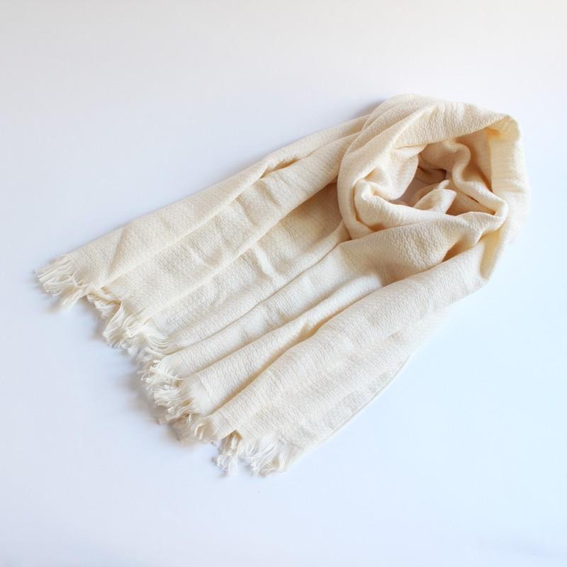 今治タオル タオル ストール なみ ギフトセット Imabari Towel Towel Stole Nami GiftSet アイボリー tanokichi 02