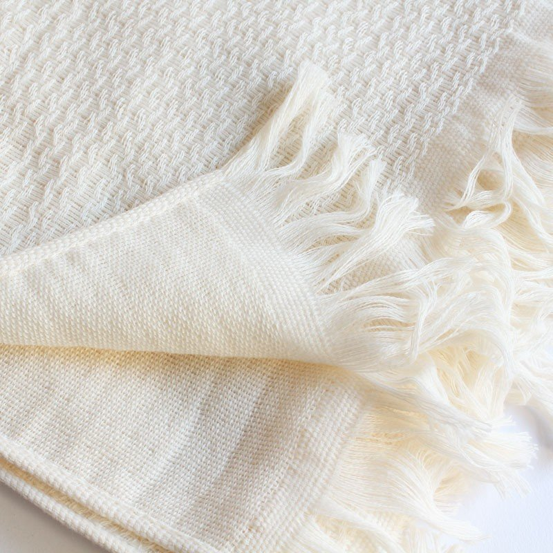 今治タオル タオル ストール なみ ギフトセット Imabari Towel Towel Stole Nami GiftSet アイボリー tanokichi 03