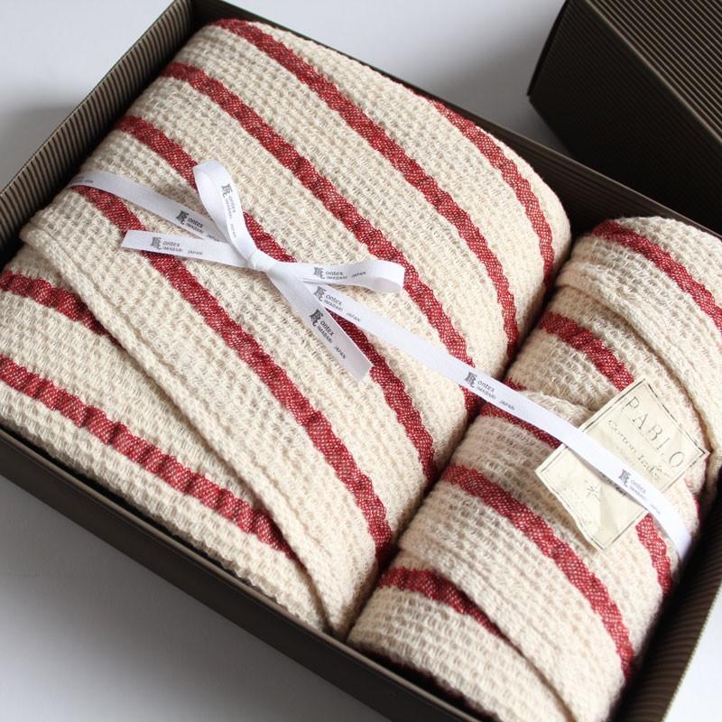 今治タオル コンテックス パブロ ギフトセット Imabari Towel Kontex Pablo GiftSet Size XL1枚xSize M1枚xSize S1枚|tanokichi|02