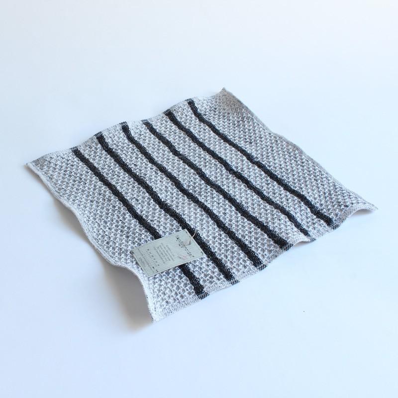 今治タオル コンテックス ハンカチーフ Imabari Towel Kontex Handkerchief ワッフル チャコールグレー|tanokichi