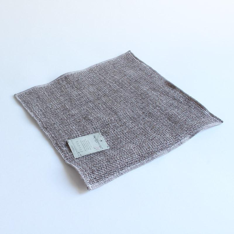 今治タオル コンテックス ハンカチーフ Imabari Towel Kontex Handkerchief リネンツィード ブラウン|tanokichi