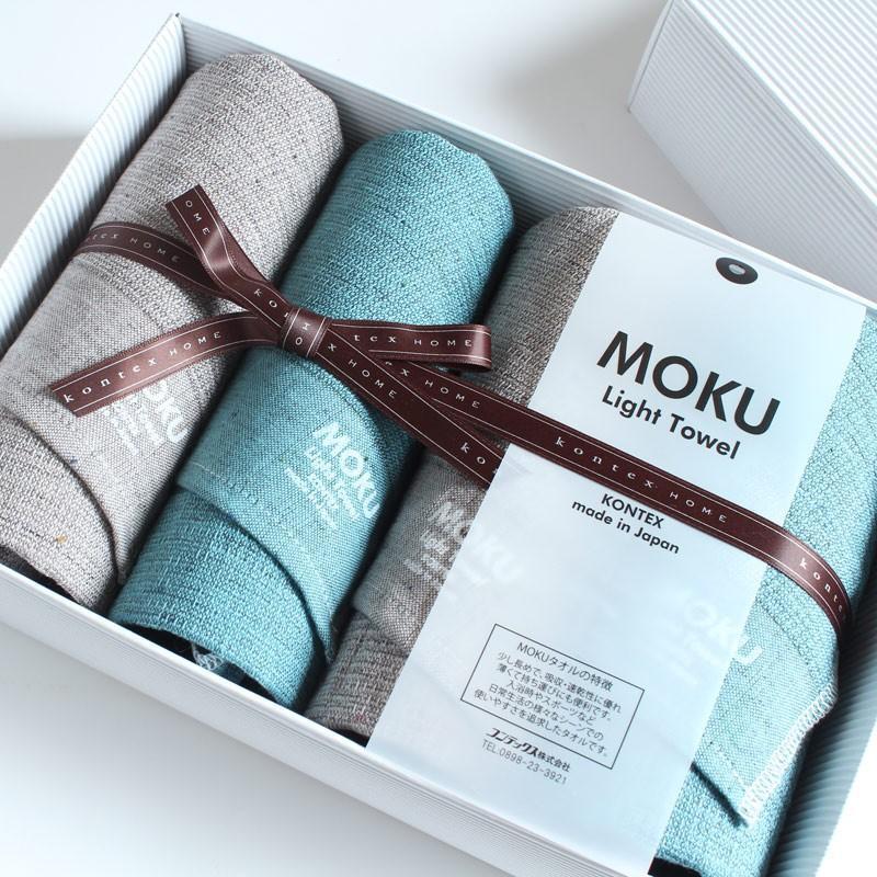 今治タオル コンテックス MOKU モク ギフトセット Imabari Towel Kontex MOKU GiftSet Size M4枚|tanokichi|02