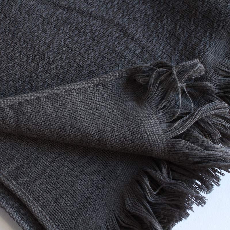 今治タオル タオル ストール なみ Imabari Towel Towel Stole Nami グレー tanokichi 02
