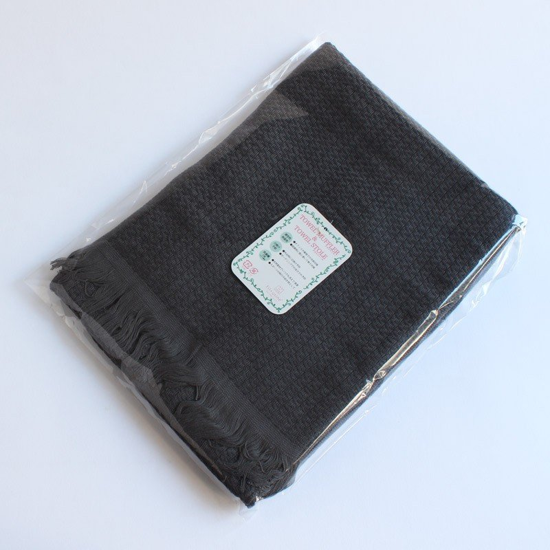 今治タオル タオル ストール なみ Imabari Towel Towel Stole Nami グレー tanokichi 03