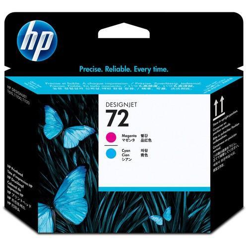 HP HP72 プリントヘッド マゼンタ/シアン C9383A 1個
