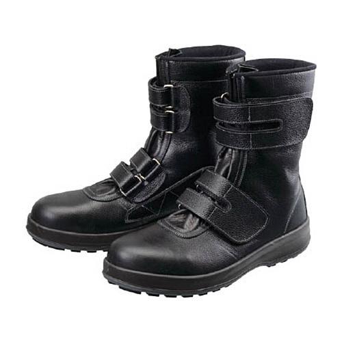 シモン 安全靴 長編上靴 マジック 黒 24.5cm WS38−24.5 1足 (お取寄せ品) ぱーそなるたのめーる - 通販 - PayPayモール