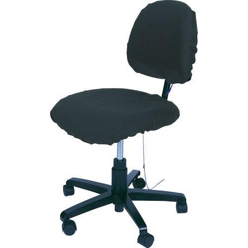 デスコジャパン 静電気導電性 クリーンルーム 椅子カバー ブラック 07201 1個 (お取寄せ) デスコジャパン 静電気導電性 クリーンルーム 椅子カバー ブラック 07201 1個 (お取寄せ)