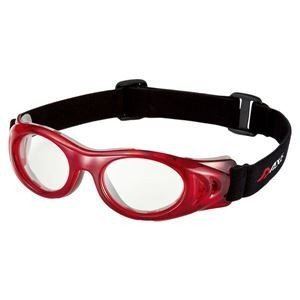ds-1048190 AXE(アックス) EYE PROTECTOR Sサイズ AEP02 レッドクリア (ds1048190)