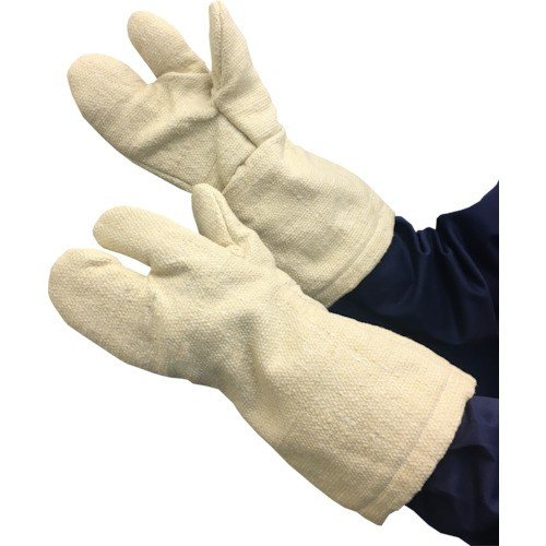 トラスコ中山 TCAT3A TRUSCO 生体溶解性セラミック耐熱手袋 3本指タイプ