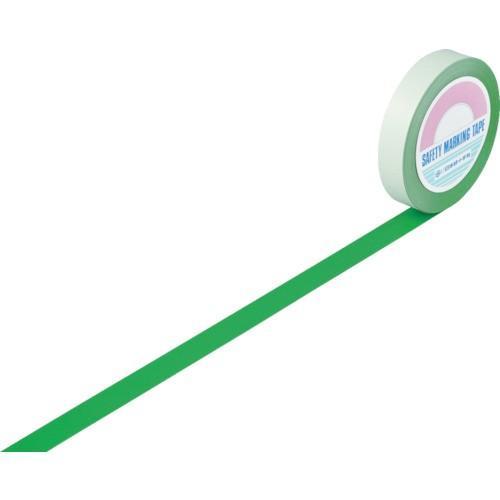 トラスコ中山 1480127047 緑十字 ガードテープ(ラインテープ) 緑 25mm幅×100m 屋内用