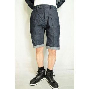 【限定特価】 ds-2063085 サイズ46【】 VADEL (ds2063085) intuck trousers shorts INDIGO COMB INDIGO サイズ46【】 (ds2063085), ドリームインテリア:1349b4cc --- airmodconsu.dominiotemporario.com