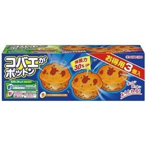 ds-2171171 (まとめ)大日本除蟲菊 コバエがポットン置くタイプ 3個入【×5セット】 (ds2171171)