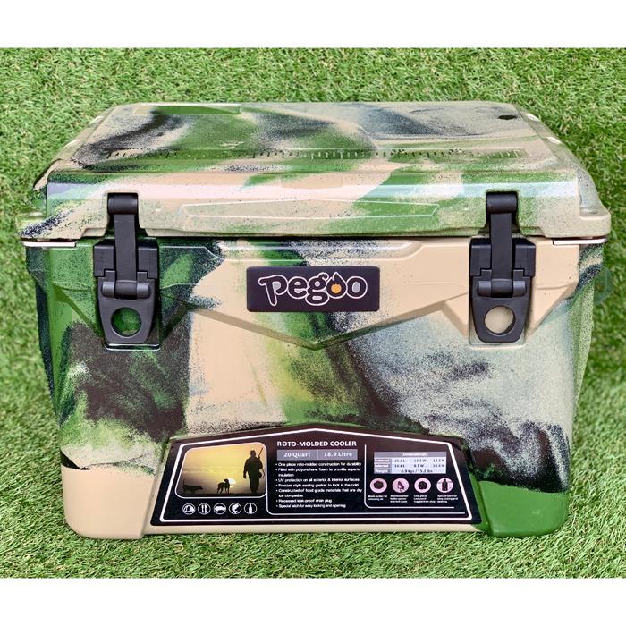 CL-02002 HardCoolerBox(ハードクーラーボックス) 20QT (約18.9 ) (Army Camo) (CL02002)