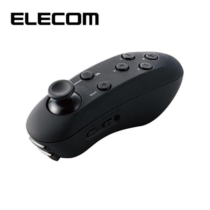 エレコム JC-VRR01BK VR用/Bluetoothコントローラー/ブラック|tantan