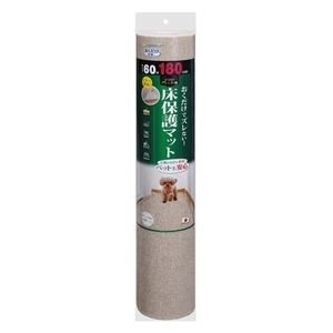 ds-2272568 (まとめ)ペット用床保護マット 60×180cm ベージュ(ペット用品)【×16セット】 (ds2272568)