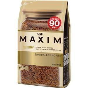 ds-2309240 (まとめ)味の素AGF マキシムインスタントコーヒー 180g 1袋【×10セット】 (ds2309240)
