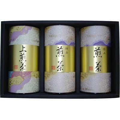 鈴木園 SZK-B50 【のし・包装可】狭山 上煎茶・煎茶セット(100g×3) B50 (SZKB50)
