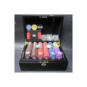 ds-725890 フォースポット・ポーカーセット500 -マホガニーケース(チップセット) (ds725890)