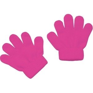 ds-1567174 (まとめ)アーテック ミニのびのび手袋 【幼児〜子供用サイズ】 アクリル製 蛍光ピンク 【×40セット】 (ds1567174)