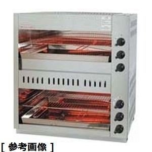 DGLD502 ガス赤外線上火式グリラーダブルタイプ