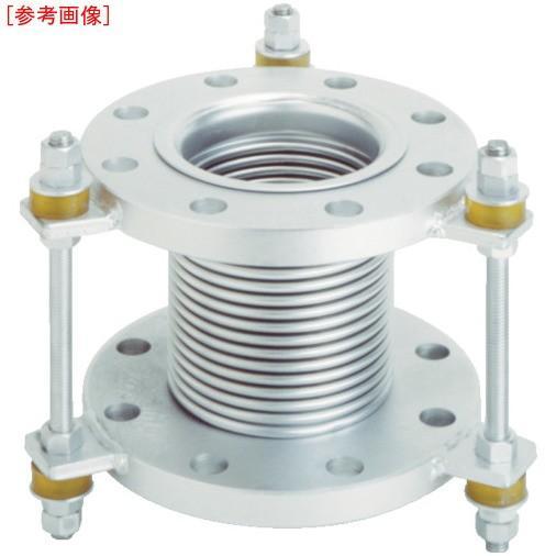 トーフレ 4571411267048 トーフレ フランジ無溶接型防振継手 10K SS400 100AX150L