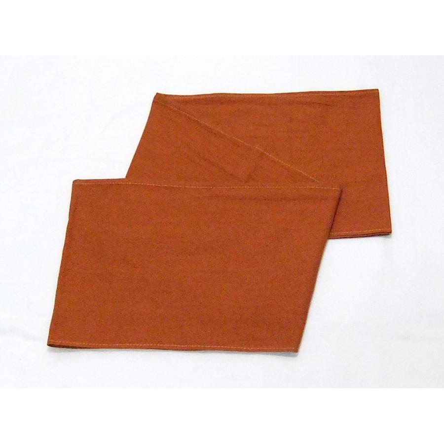 六尺ふんどし 特岡さらし 赤橙 Lサイズ tanukidou 04