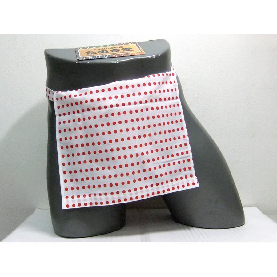 越中 豆絞り(赤玉) Mサイズ/Lサイズ|tanukidou