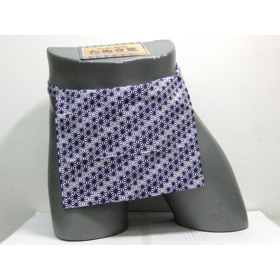 越中 麻の葉(紺) Mサイズ/Lサイズ|tanukidou