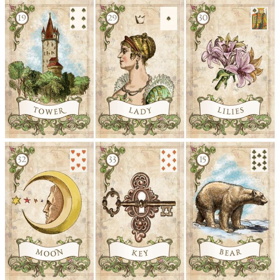 カード ルノルマン 鏡リュウジ・秘密のルノルマン・オラクル