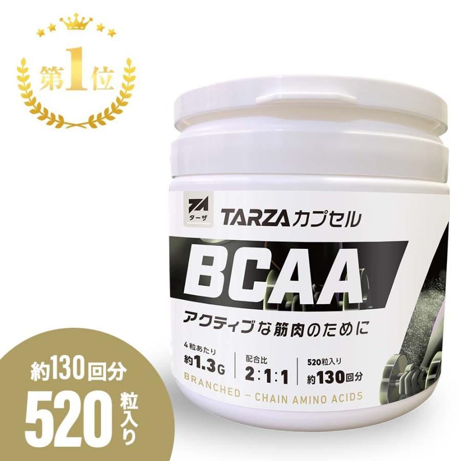 TARZA(ターザ) BCAA カプセル 158400mg 480粒入 約120回分  国産 アミノ酸 サプリメント タブレット 無香 tarza