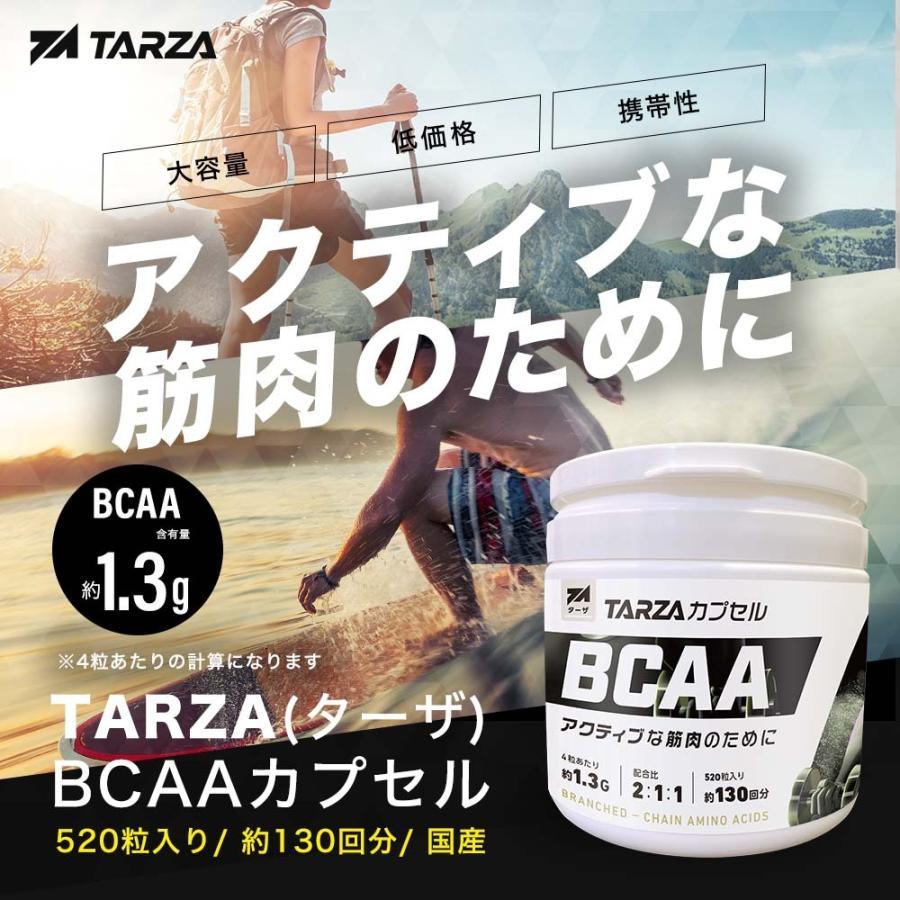 TARZA(ターザ) BCAA カプセル 158400mg 480粒入 約120回分  国産 アミノ酸 サプリメント タブレット 無香 tarza 02