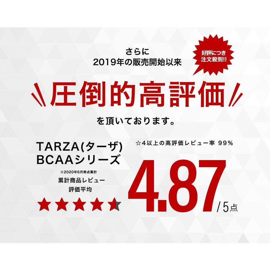 TARZA(ターザ) BCAA カプセル 158400mg 480粒入 約120回分  国産 アミノ酸 サプリメント タブレット 無香 tarza 04
