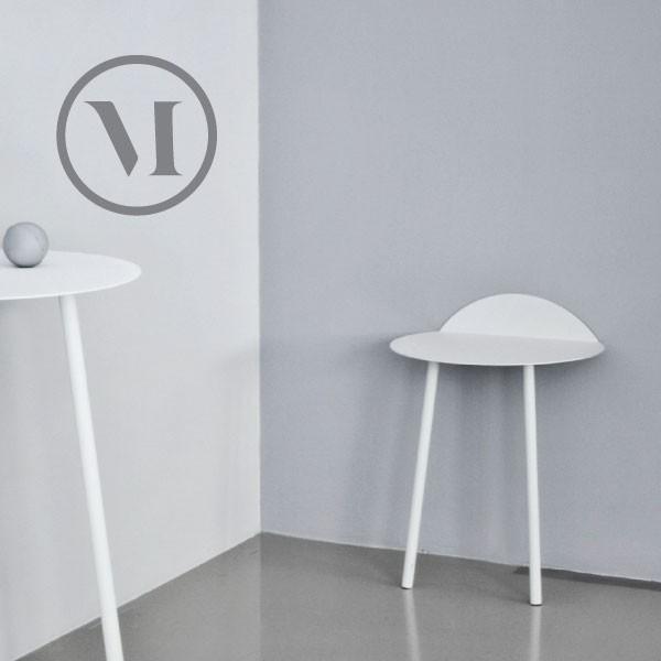 menu/メニュー Yeh Wall Table small size イェーウォールテーブル 小 ホワイト/ライトグレイ 玄関やダイニングに映える小サイズのウォールテーブ