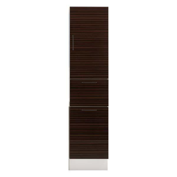 洗面化粧台 LIXIL/INAX L.C. エルシィ トールキャビネット 間口W300mm 上部収納:引出1段タイプ(扉1段付)+下部収納:ランドリー収納タイプ LCYS-305DSL(R)-A