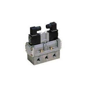 CKD 4Fシリーズパイロット式5ポート弁セレックスバルブ CKD(株) (4F420-08-AC100V) (110-3113)