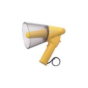 TOA 小型ハンド型メガホン ホイッスル音付き TOA(株) (ER-1106W) (290-4551)