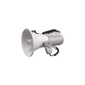 TOA 中型ショルダー型メガホン ホイッスル音付き TOA(株) (ER-2115W) (290-4594)