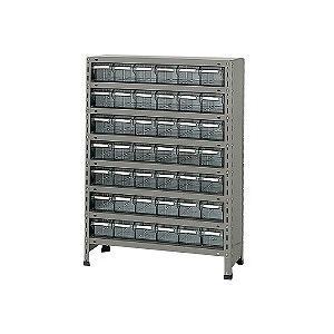 【代引き不可】 【代引き不可】 物品棚LEK型樹脂ボックス LEK8128-42T